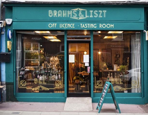 Brahms & Liszt east London tasting room bar