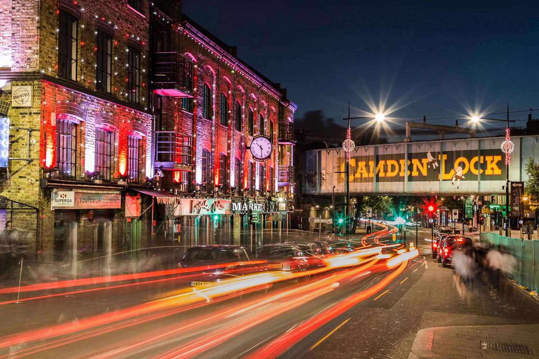 Camden London restaurants bars