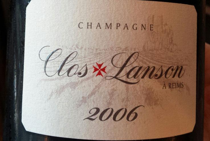 Clos Lanson Champagne