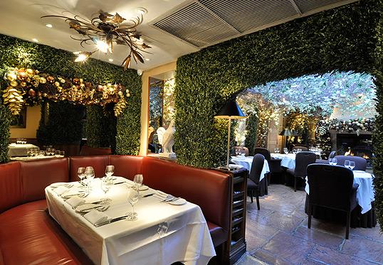 Clos Maggiore London restaurant