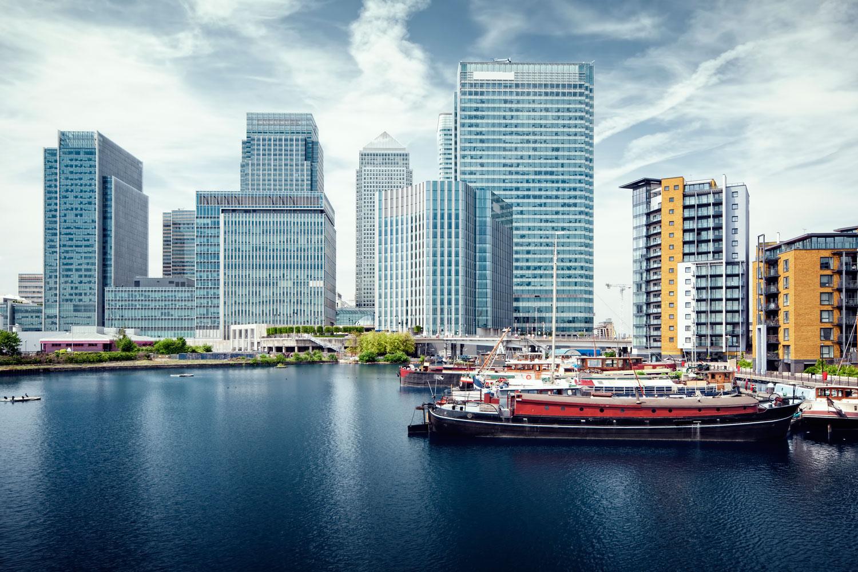 London Canary Wharf restaurants bars