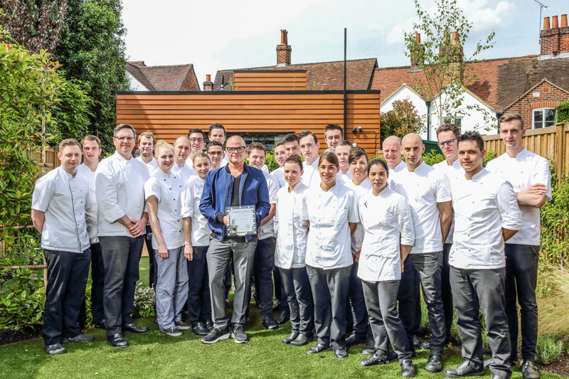 UK top 100 restaurants The Fat Duck Heston Blumenthal restaurant