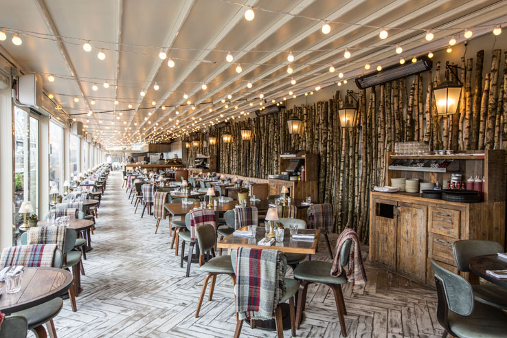 Forest restaurant pop up Selfridge's London Oxford Street