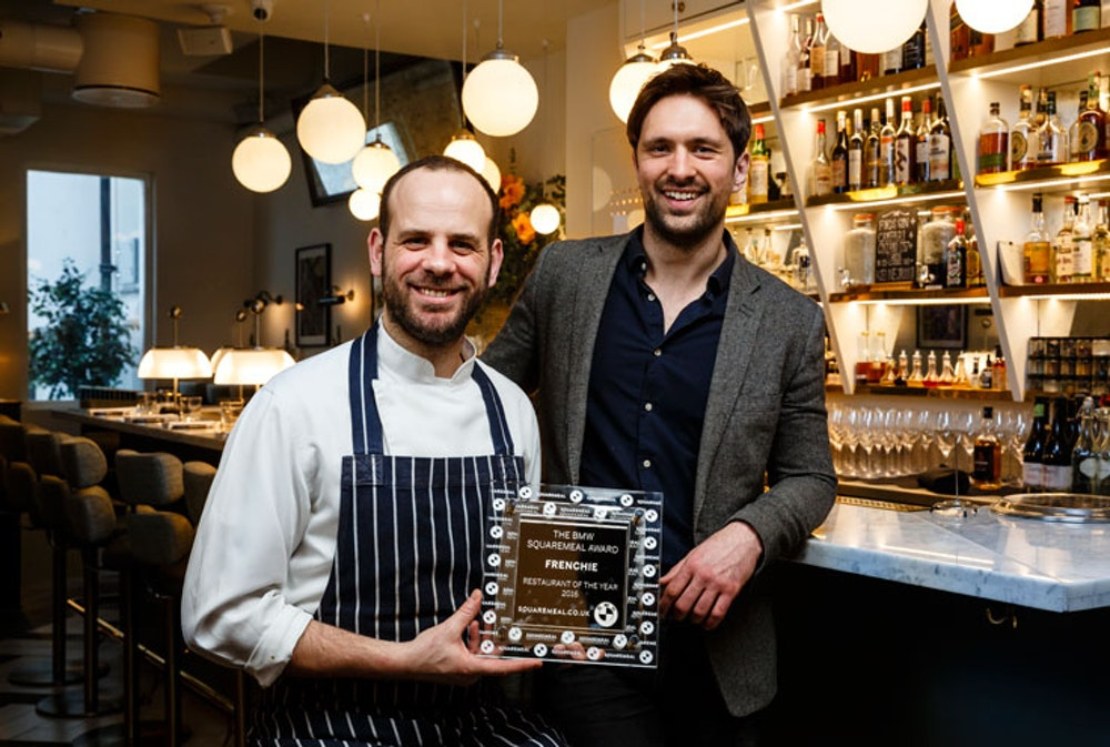 BMW Squaremeal Restaurant of the Year 2016