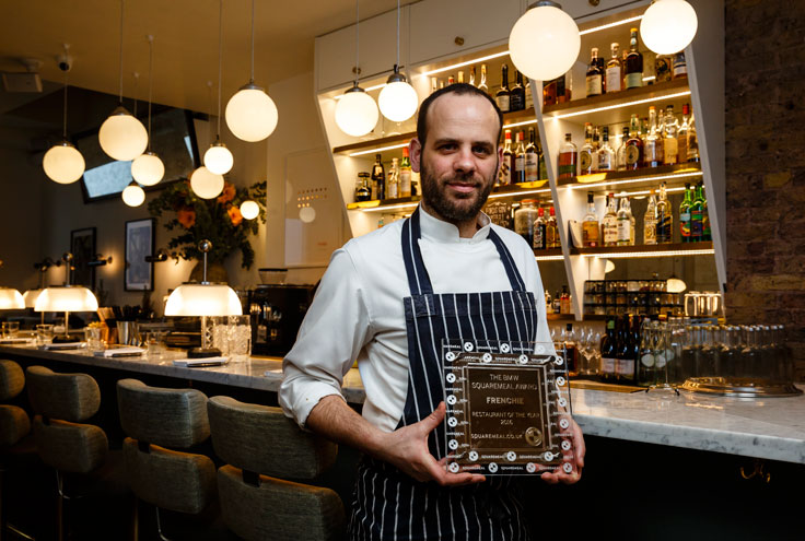 Frenchie London Covent Garden restaurant Squaremeal Restaurant of the year 2016