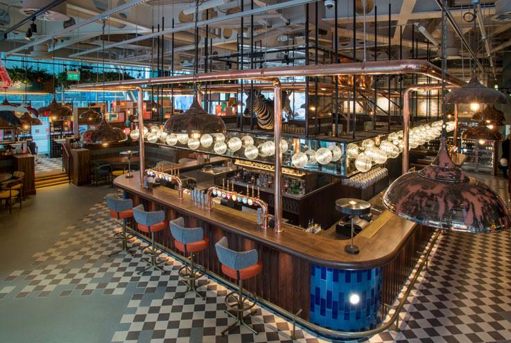 Greenwood London Victoria restaurant bar