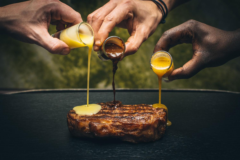 Heliot steakhouse Easter dish