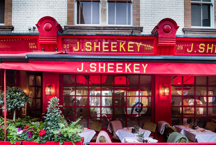 J Sheekey exterior
