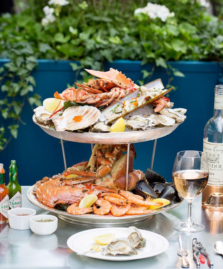 Oyster season London restaurants seafood