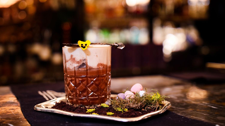 Easter dish Manetta bar cocktail