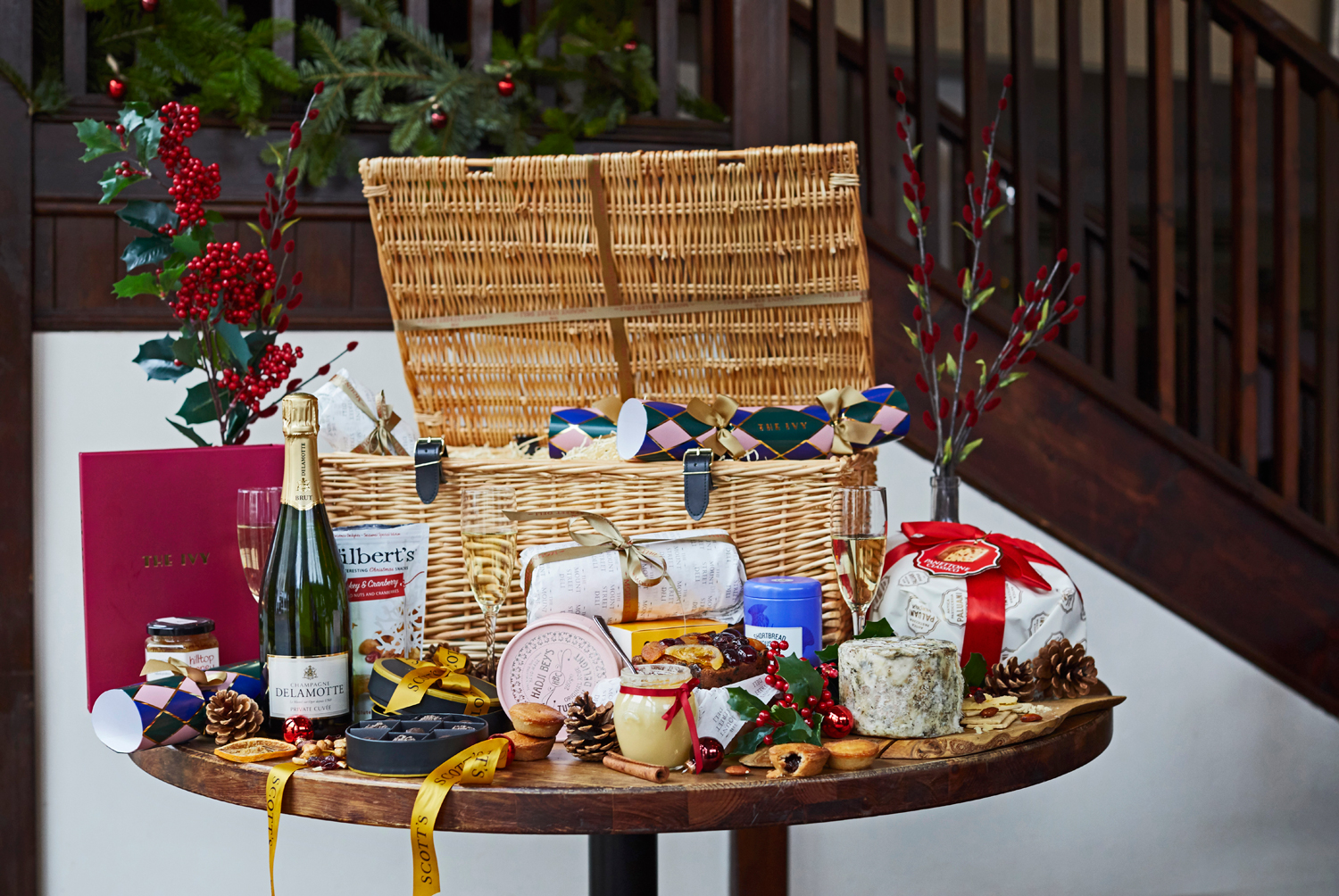 Mount Street Deli Christmas hampers