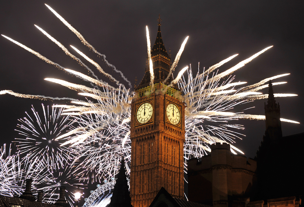 New Year's Eve 2015 2016 Square Meal best pick New Year's Eve 2015 2016 events parties dinners London restaurants and bars Big Ben fireworks
