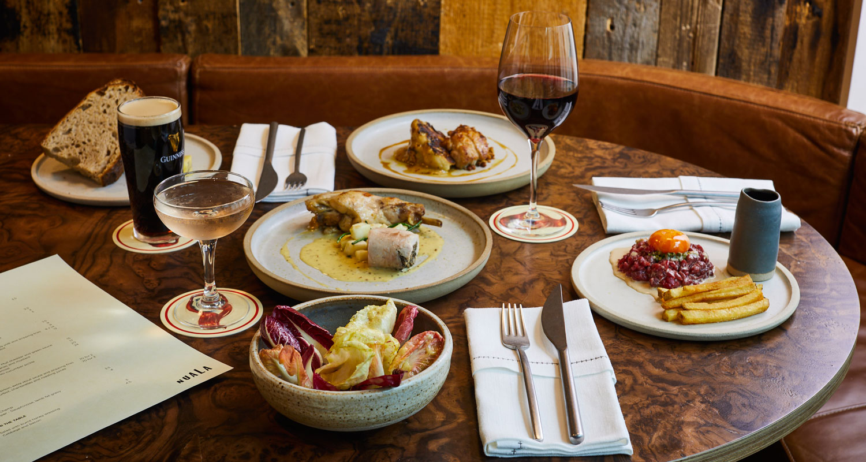 Nuala restaurant small plates tartar chicken drinks