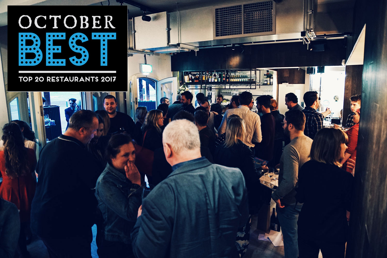 October Best Brighton launch party logo restaurants bars