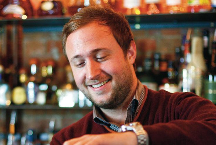 Oskar Kinsberg bartender London Squaremeal Square Meal