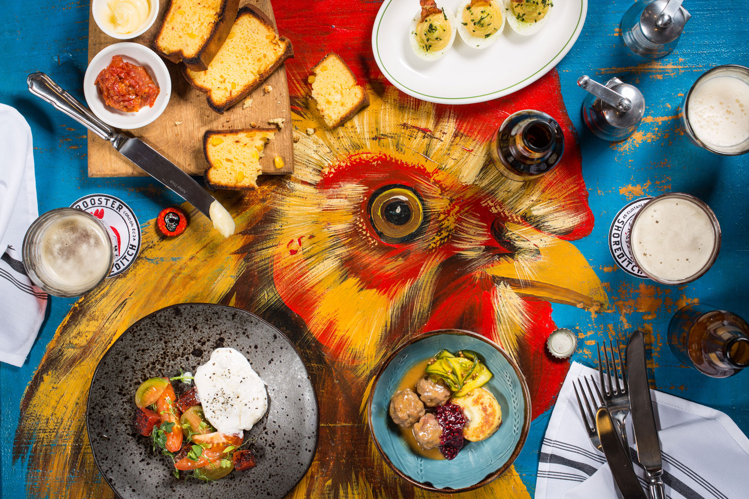red rooster food spread 2017 web