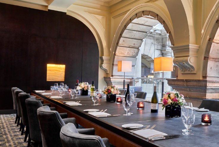 Royal Exchange Grand Cafe private dining room