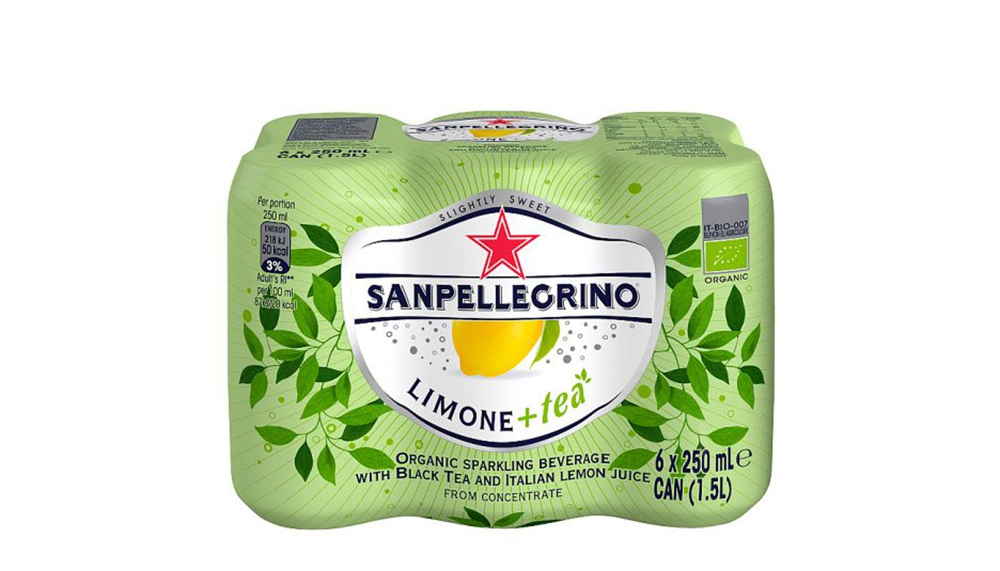 Sampellegrino lemon tea