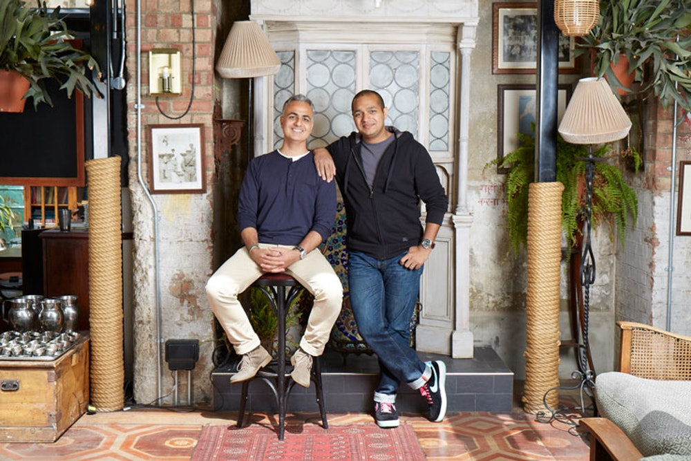 Two minutes with Dishoom founders Shamil and Kavi Thakrar