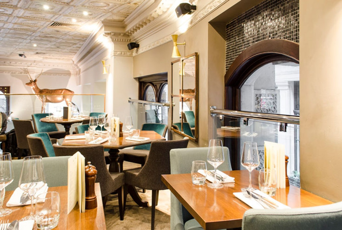 Mezzanine private dining rooms in London