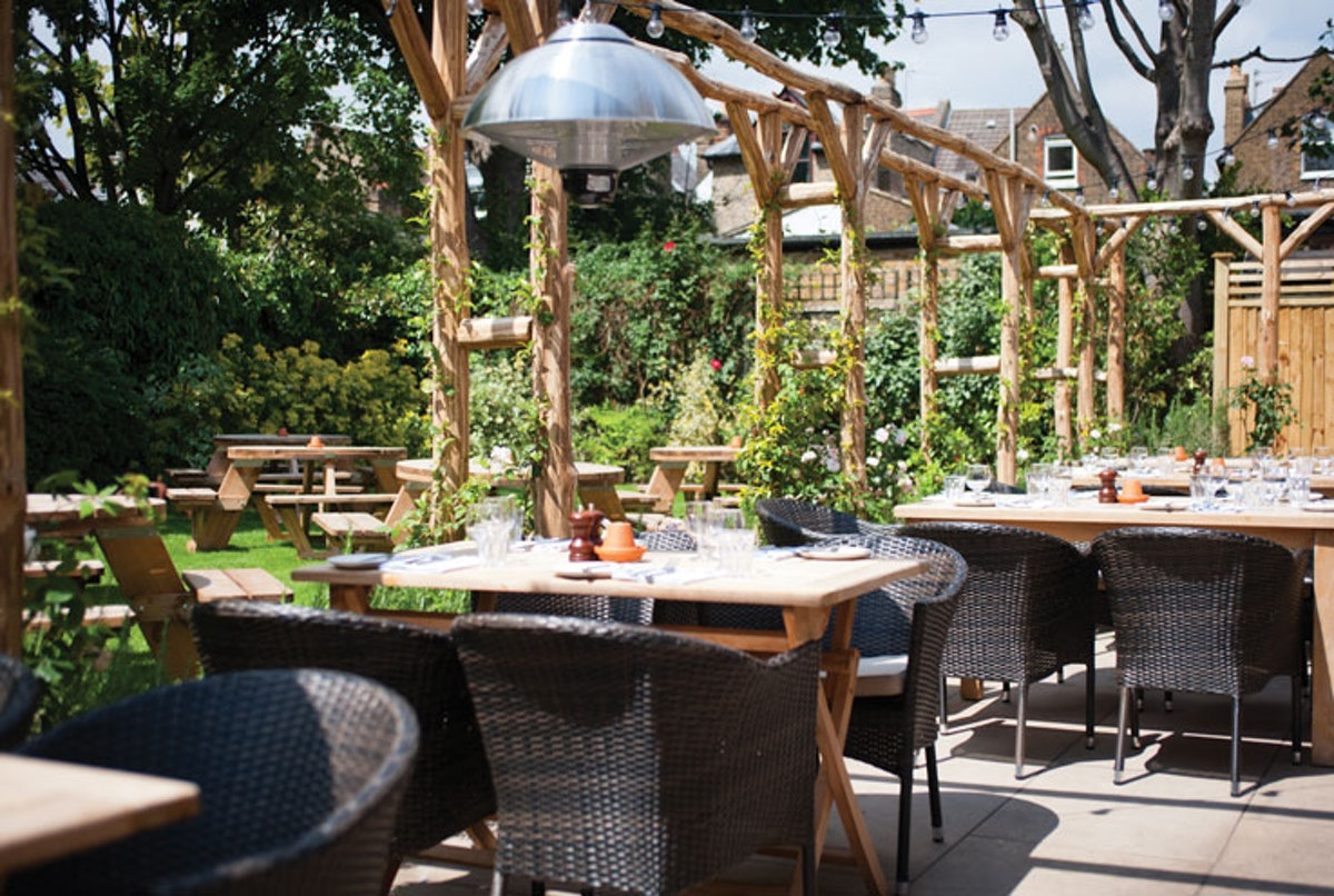 Great beer gardens at London pubs