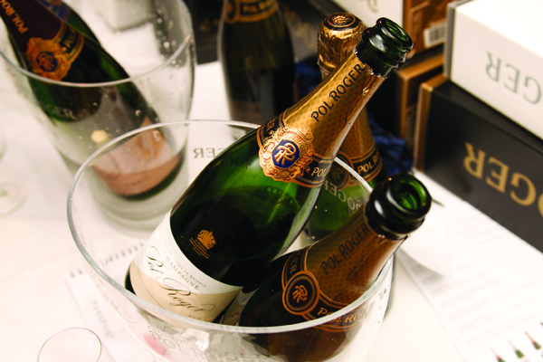 Square Meal Tasting Champagne