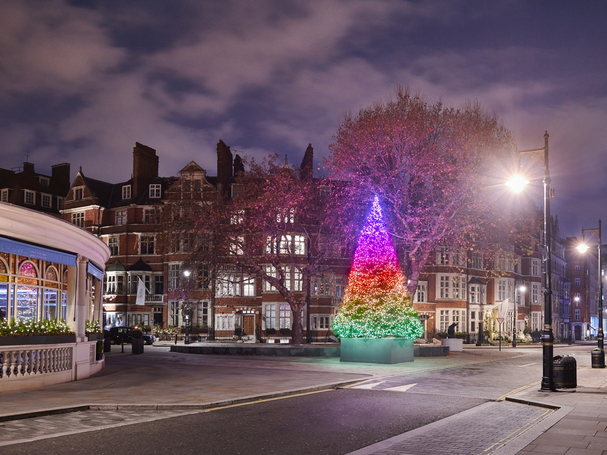 7 of the most Instagrammable Christmas trees in London