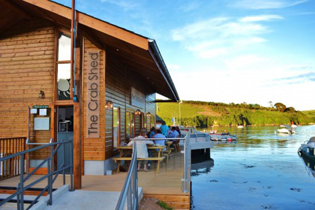 The Crab Shed Salcombe restaurant bar
