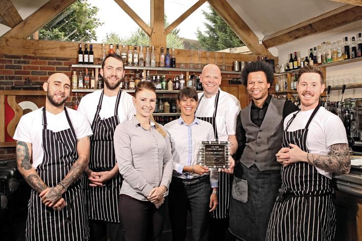 The Hand & Flowers restaurant chef Tom Kerridge