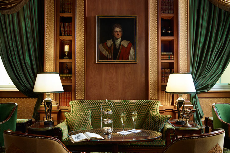 The Lanesborough Knightsbridge Hyde Park Corner London hotel Restaurant The Library Bar