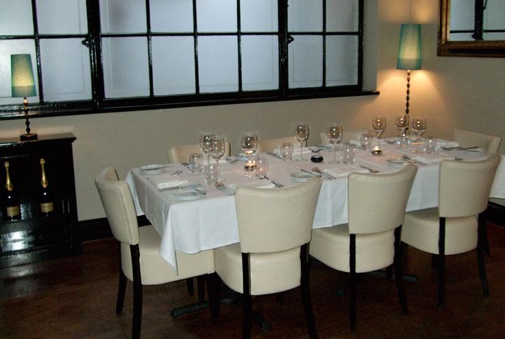 The Mercer London restaurant private dining room
