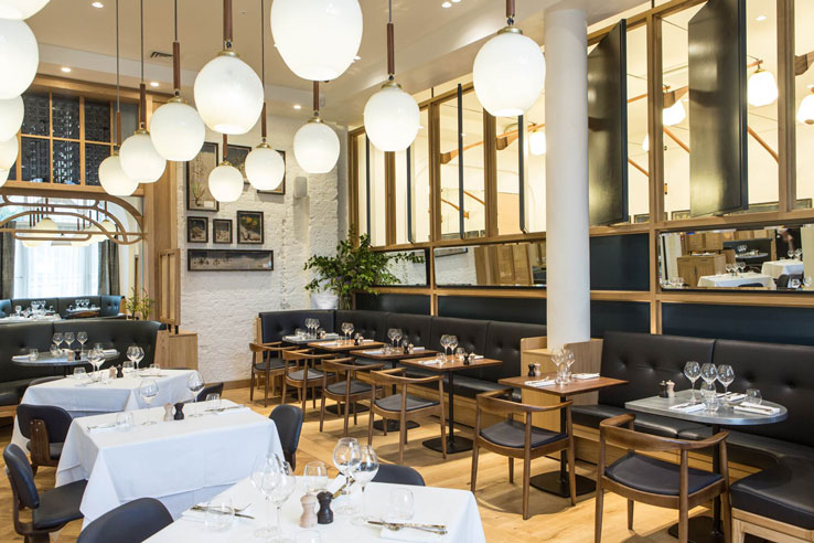 The Modern Pantry Clerkenwell city London restaurant bar