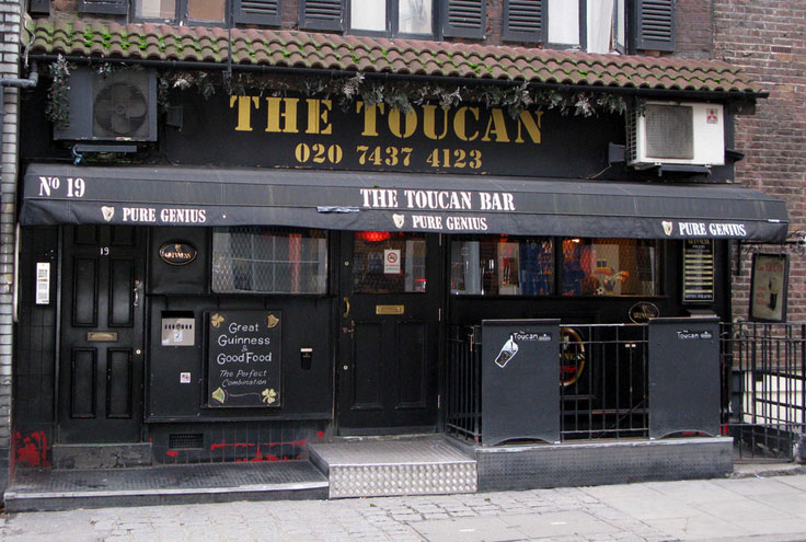St Patrick's Day London Irish bars pubs restaurants