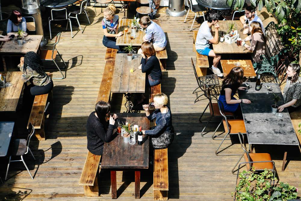 The Water Poet London pub bar restaurant