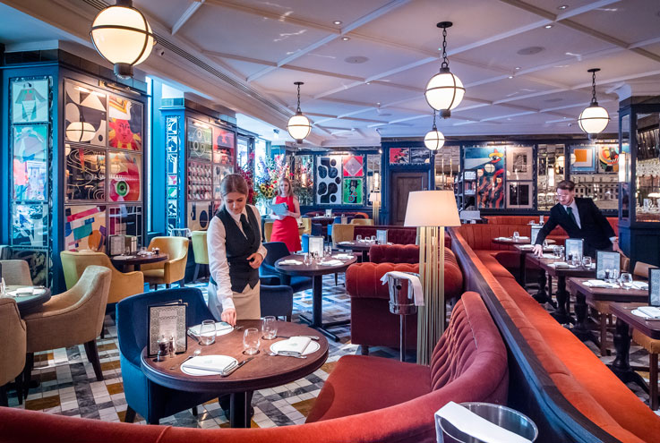 The Ivy Soho Brasserie London restaurant bar cafe The Ivy