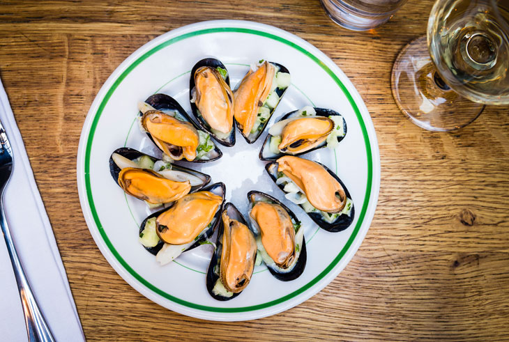 The Richmond Mussels and Clam Salad