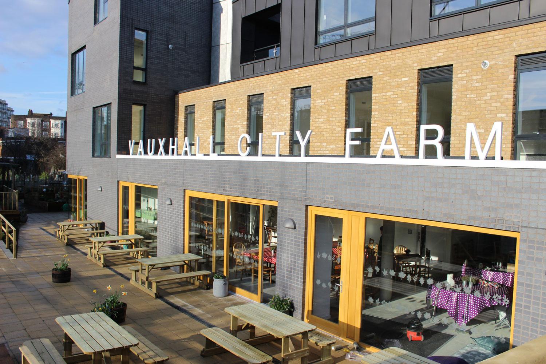 Vauxhall City Farm London cafe