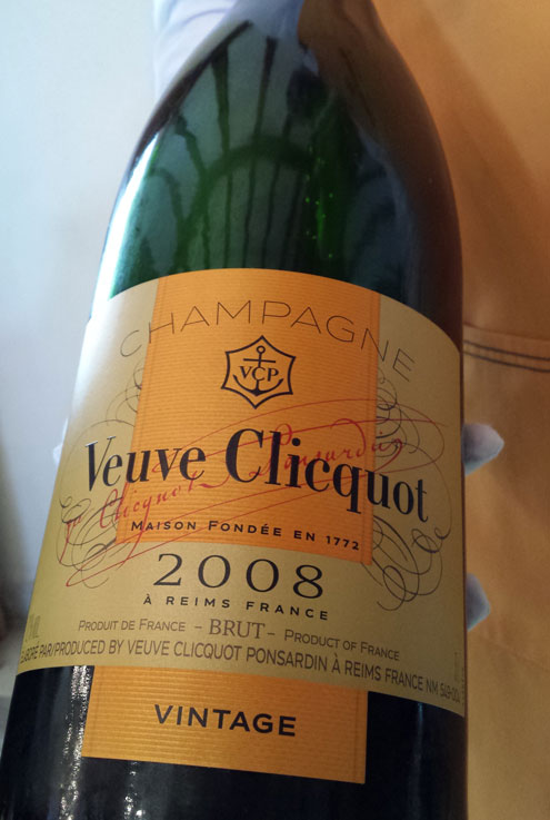 Veunve Champagne
