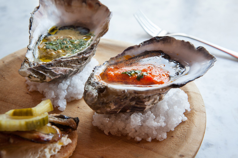 Wright brothers oyster selection