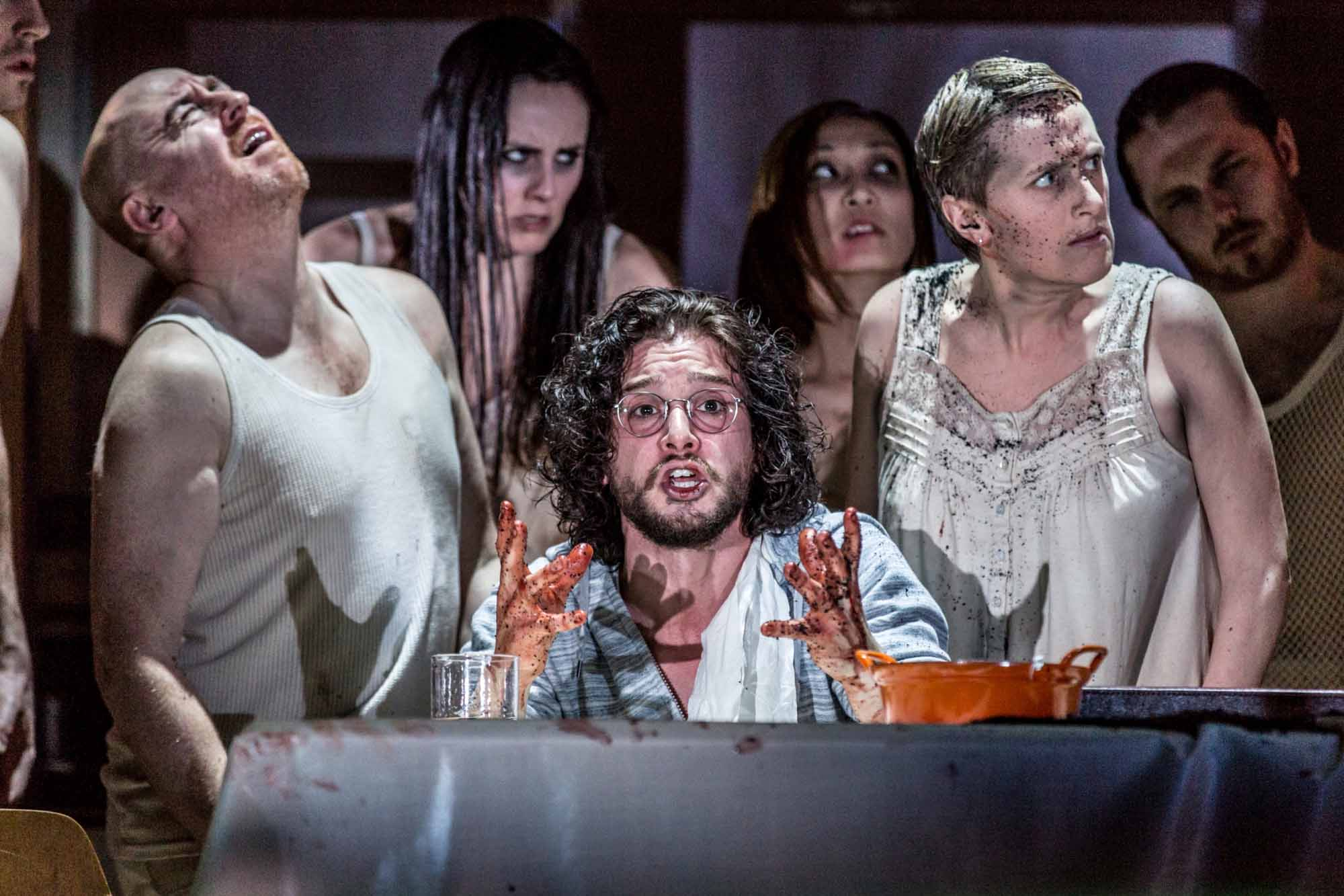 Theatre review Doctor Faustus - credit Marc Brenner