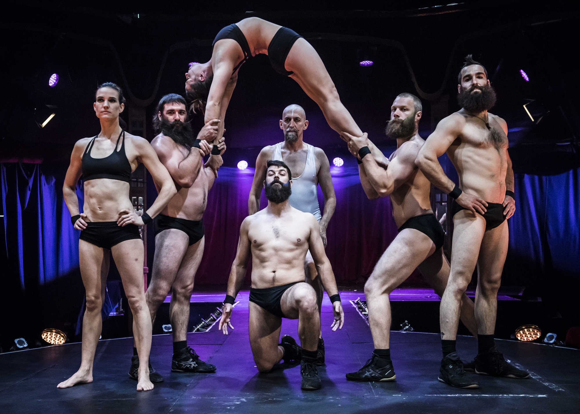 Theatre review Barbu Spiegeltent Southbank Centre - credit David Jensen