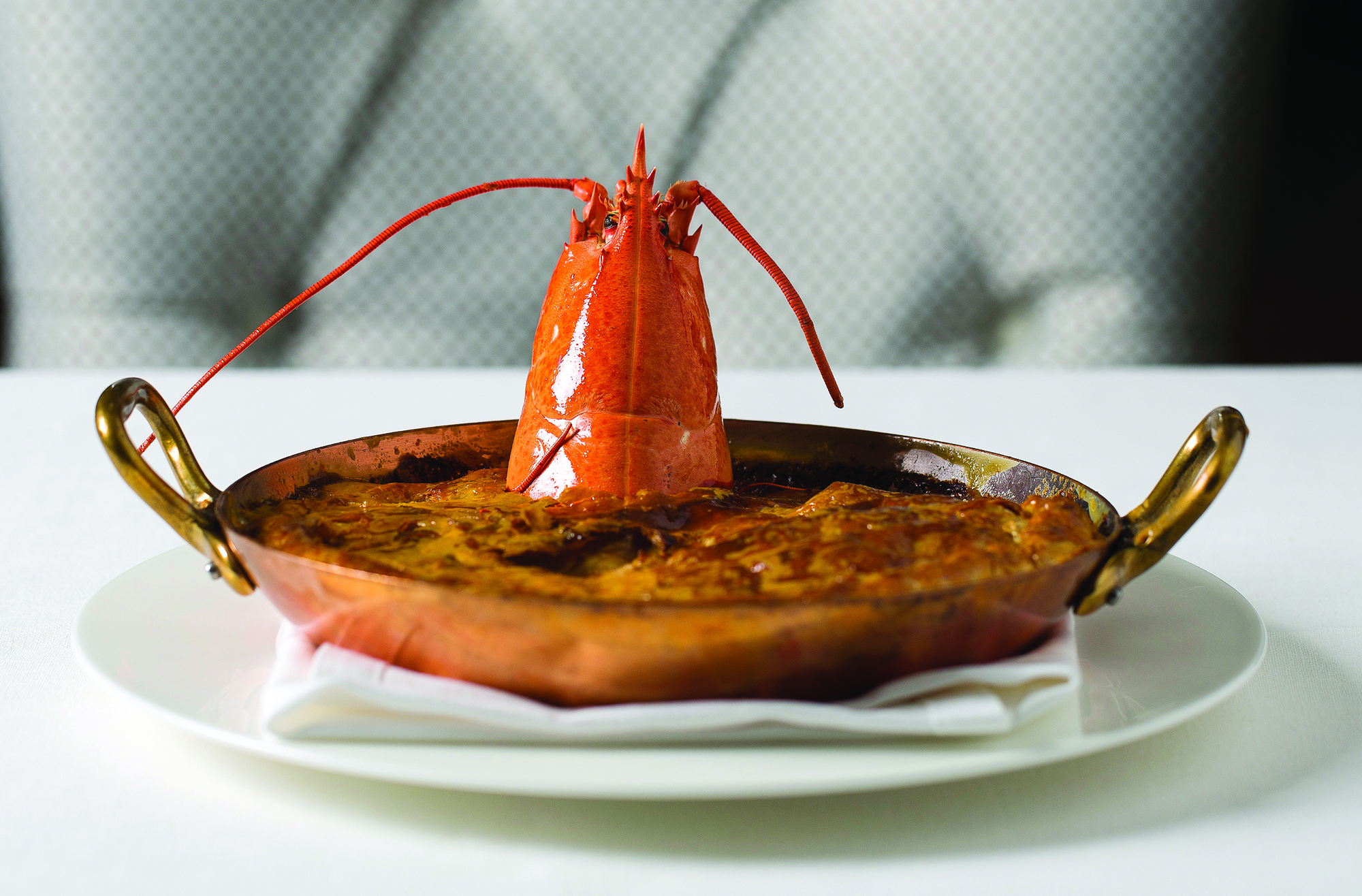 Get it while its hot - lobster at Blades