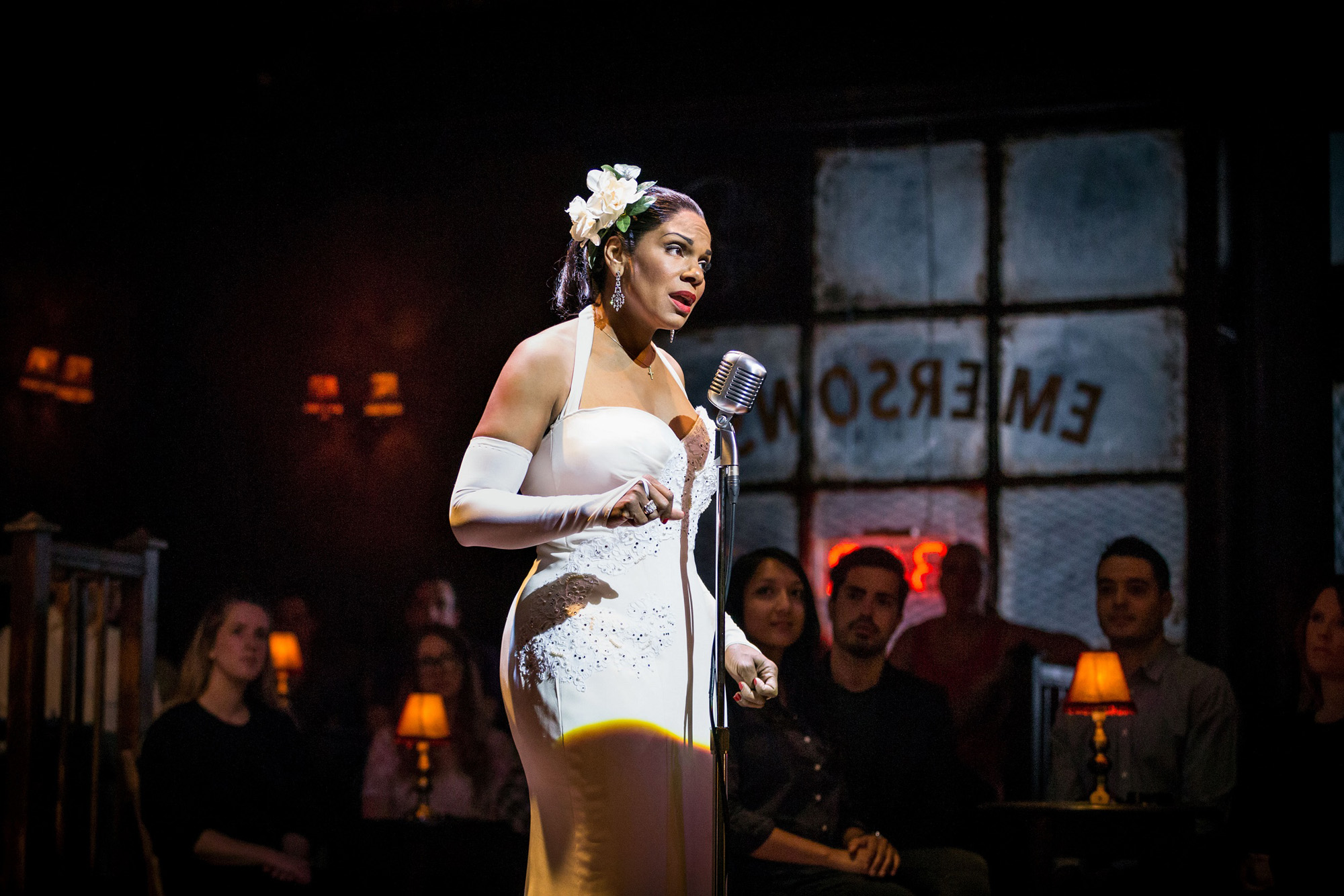 Theatre review Lady Day at Emerson s Bar and Grill - credit marc brenner
