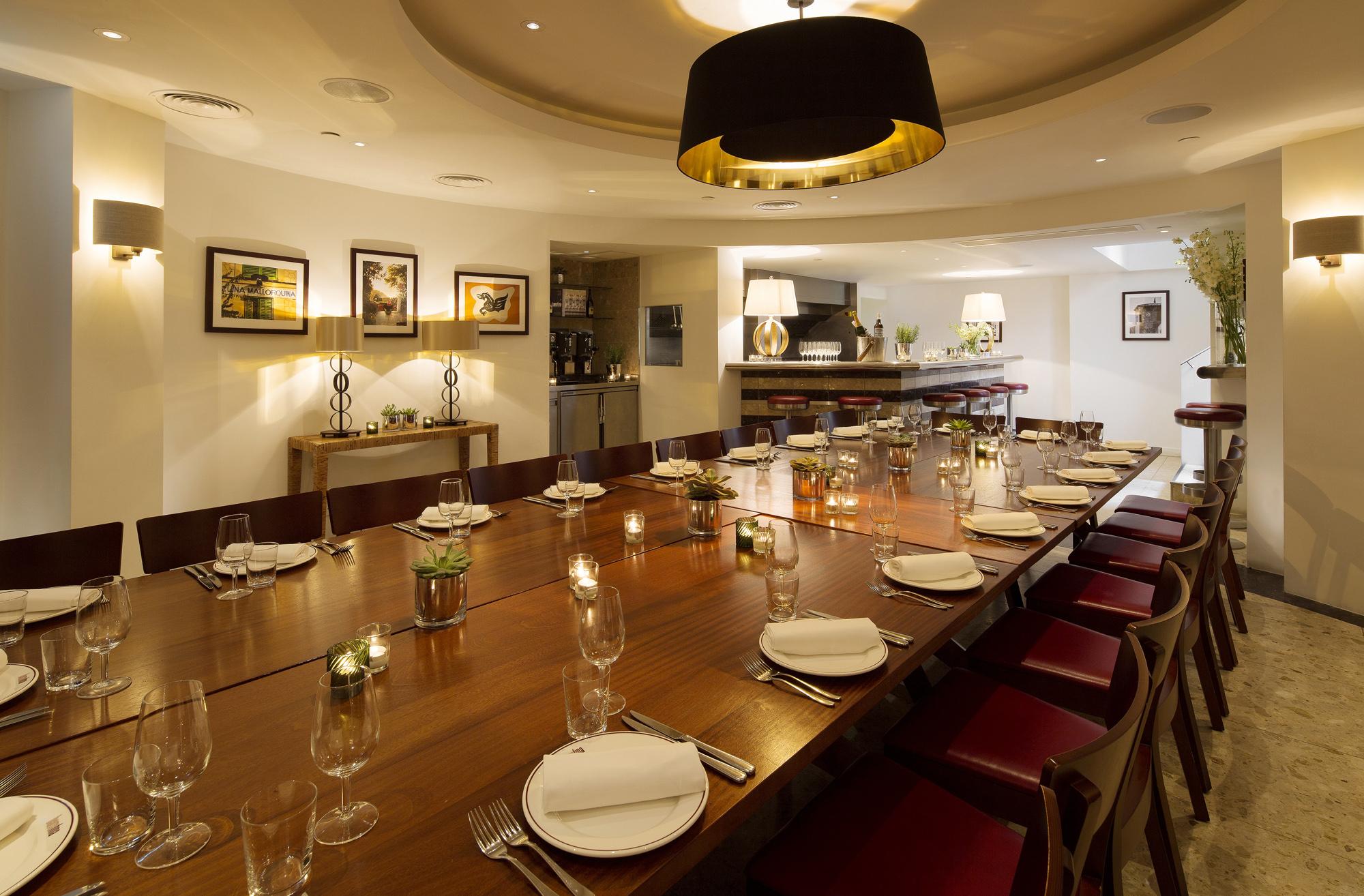 Alternative Christmas dinners barrafina adelaide street london restaurants