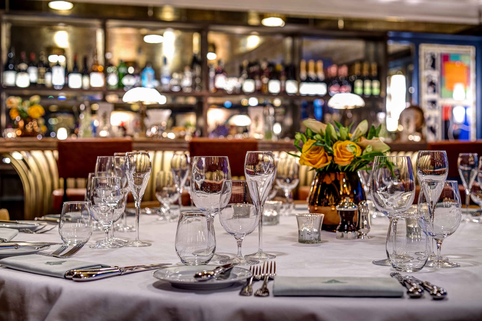 Christmas at Ivy Soho Brasserie venue hire