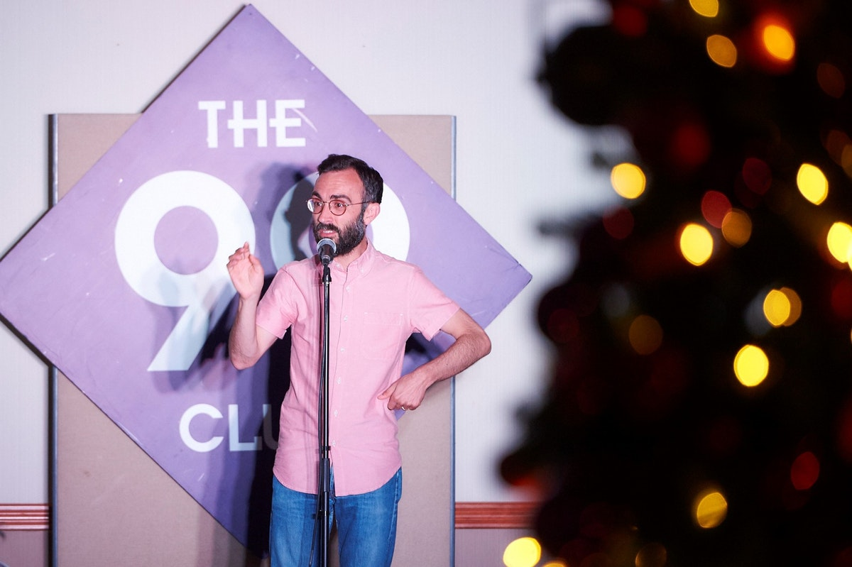 Comedy and Christmas combine at Strand Palace Hotel