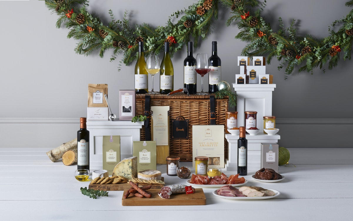 Corporate gift review: The Montpelier hamper from Harrods