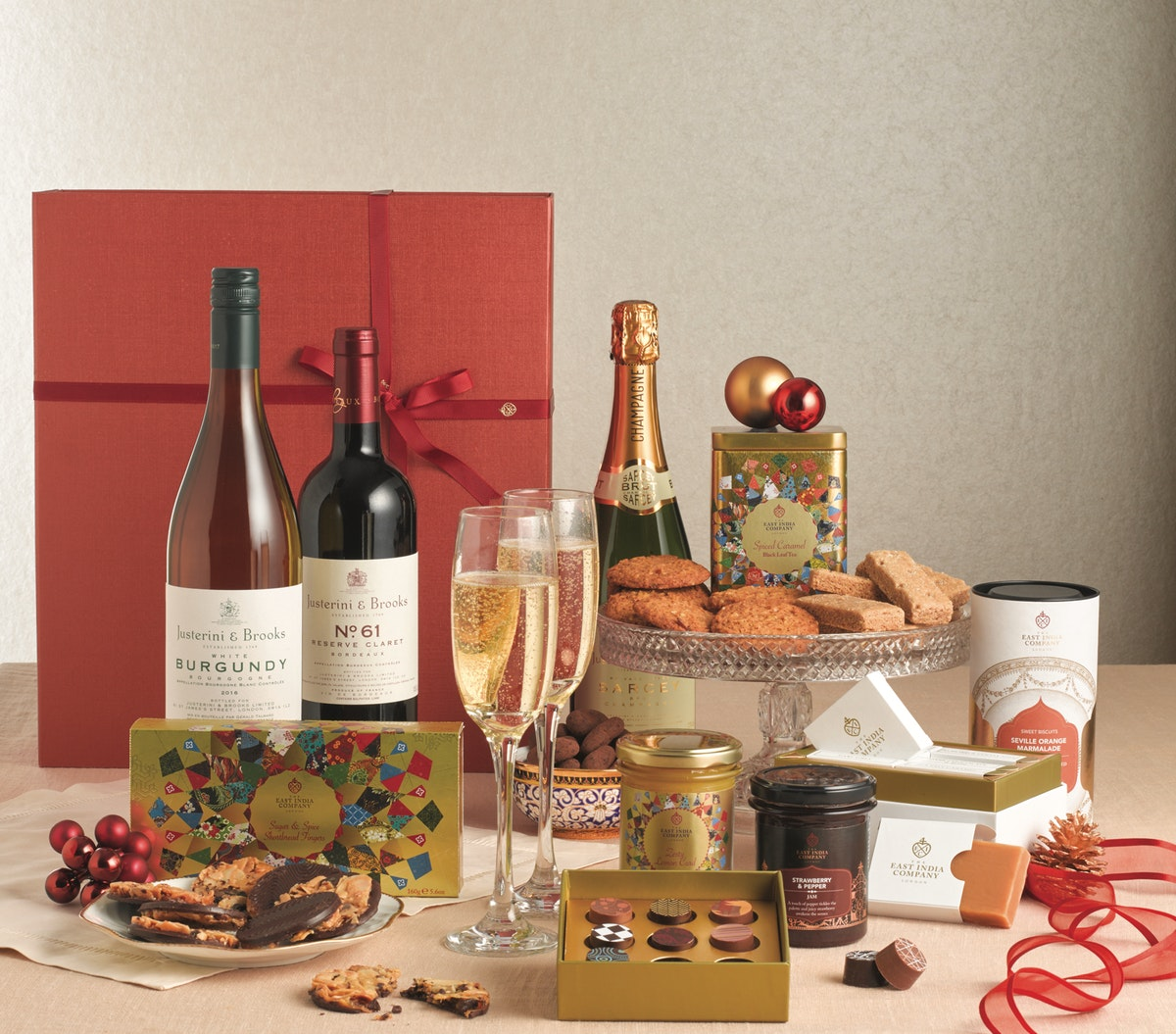 The East India Company wraps up Christmas with range of 27 hampers