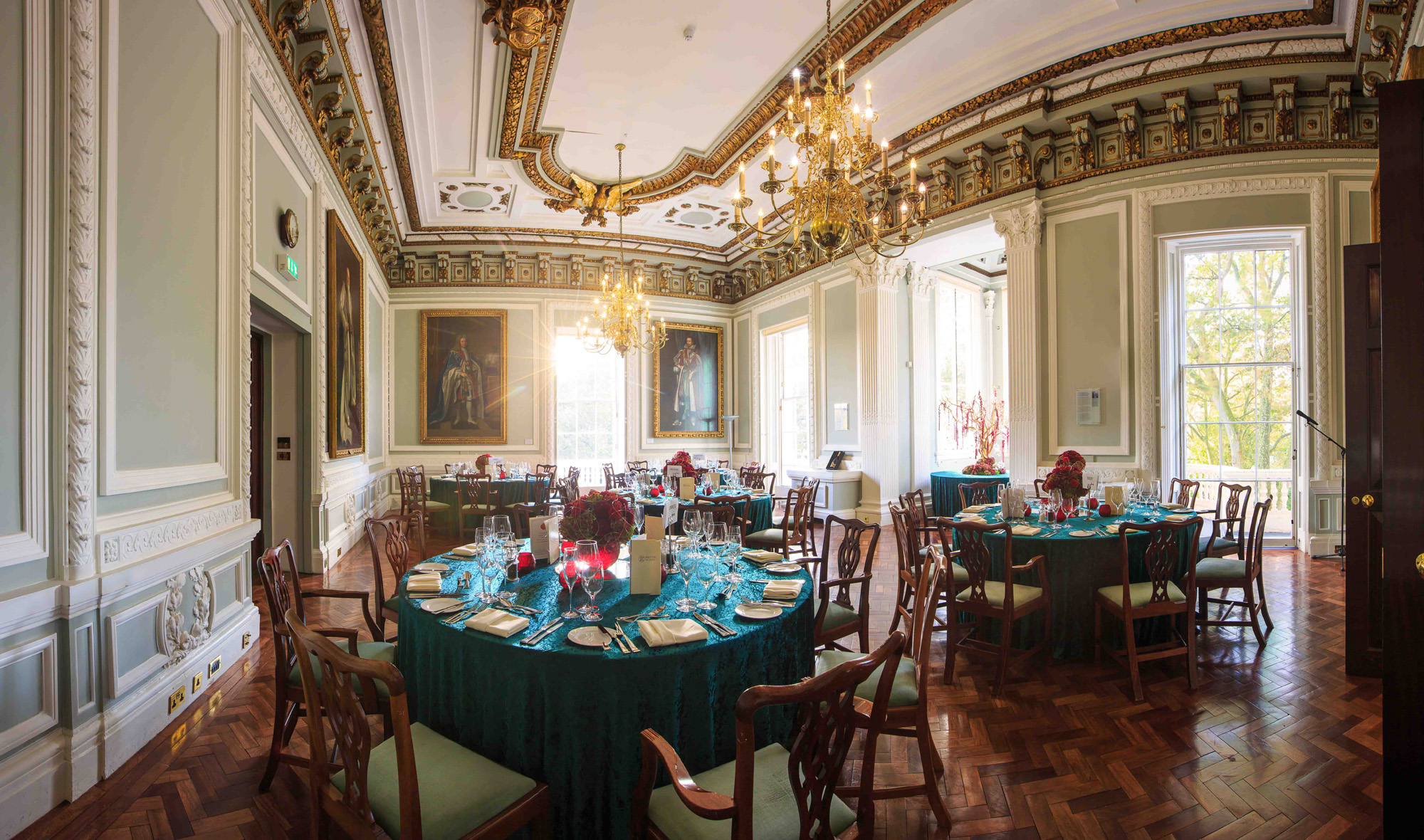 Christmas at 10-11 Carlton House Terrace british academy london venues private hire events banqueting dining