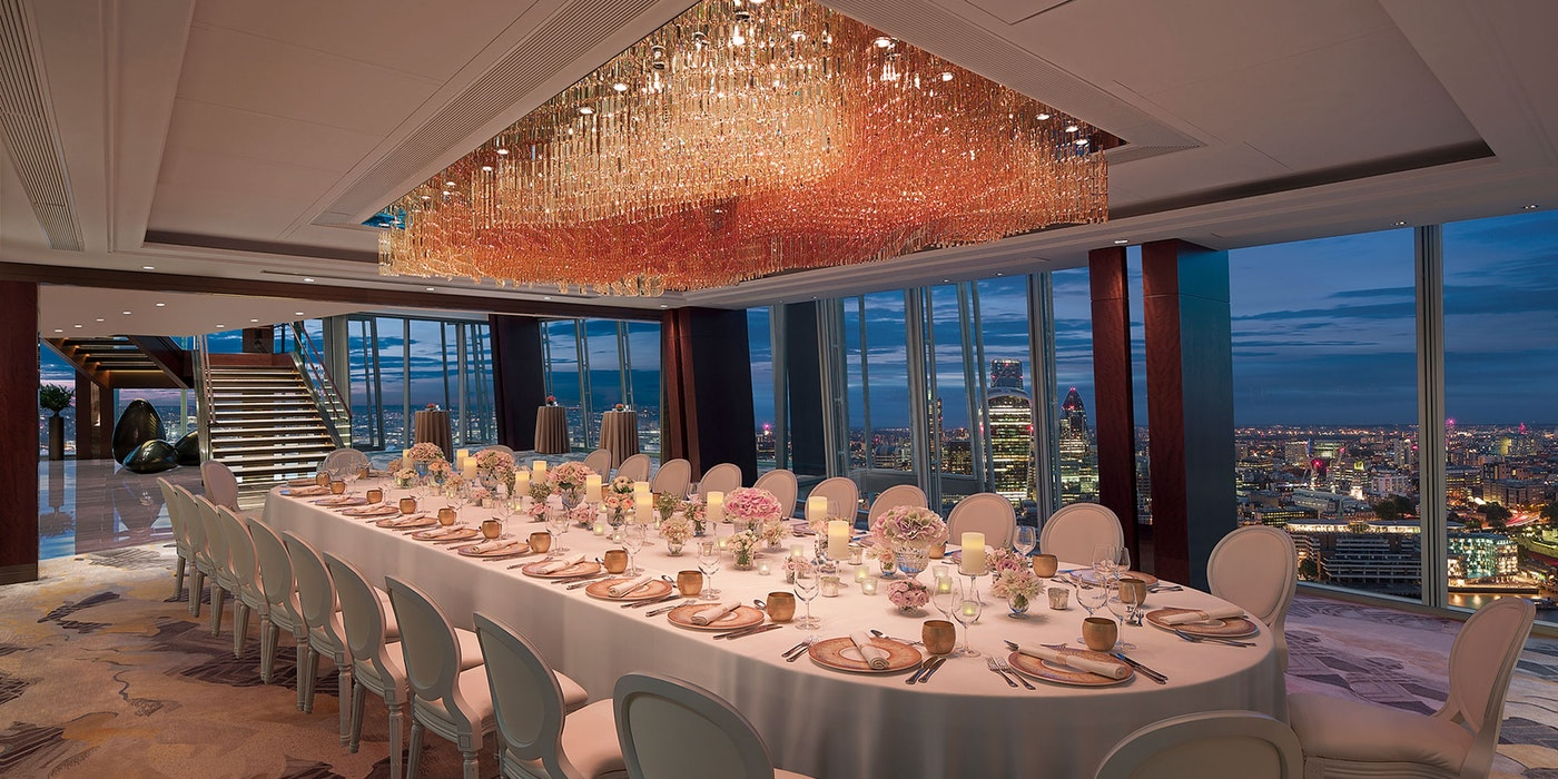 Celebrate Christmas in the sky at Shangri-La Hotel at The Shard